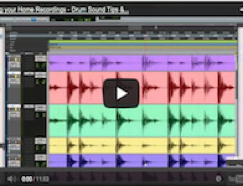 Home Recording Tips – Mixing Techniques – Drums, Step 1: Absolute / Relative Phase and Time alignment