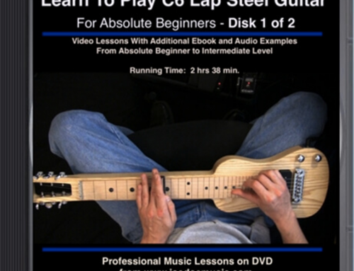 Learn To Play C6 Lap Steel Guitar DVD#1