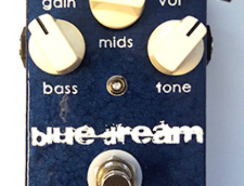 "JDM Pedals ""Blue Dream"": An improved Ibanez ST-9 Style Overdrive"