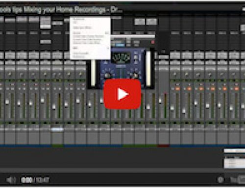 Home Recording Tips – Mixing Techniques – Drums, Step 3: Channel EQ & Compression