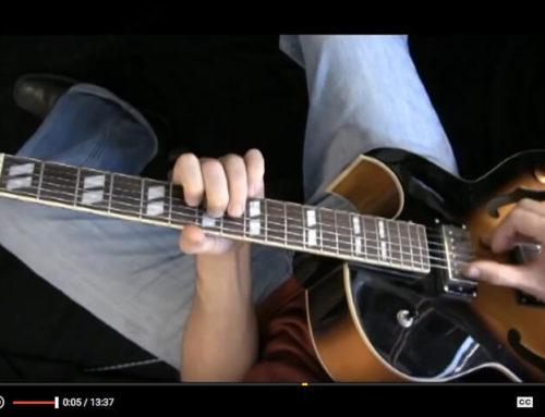 Silent Night – Easy Fingerstyle Jazz Guitar Arrangement