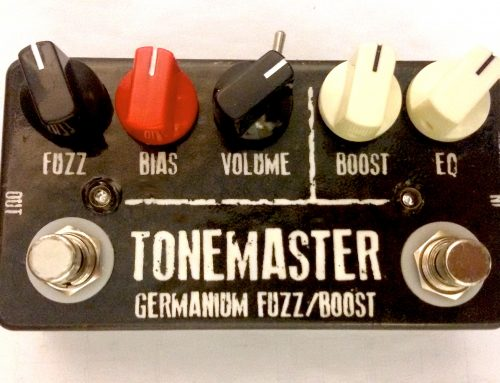 "JDM Pedals ""Tonemaster"" Germanium Fuzz/Boost"