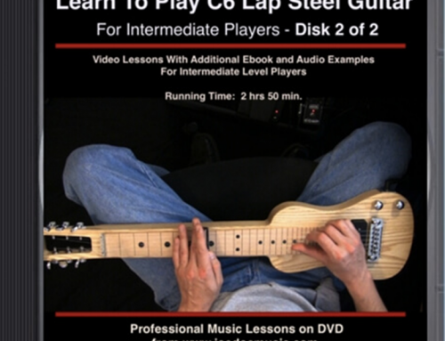 Learn To Play C6 Lap Steel Guitar DVD#2