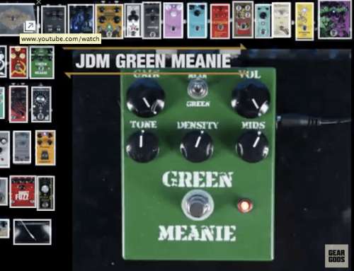 JDM Pedals Green Meanie in HUGE Pedal Shootout at Gear Gods!