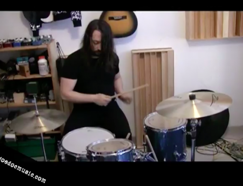 """Drum Setup and Tuning: Ludwig Breakbeats Kit 3 Microphone Setup """"60's sound"""""""