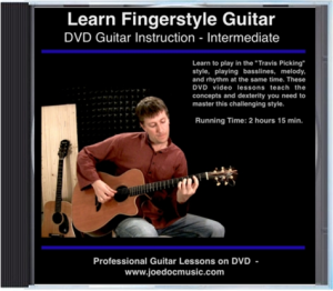 "Learn to Play Fingerstyle ""Travis Picking"" Guitar DVD / Video"