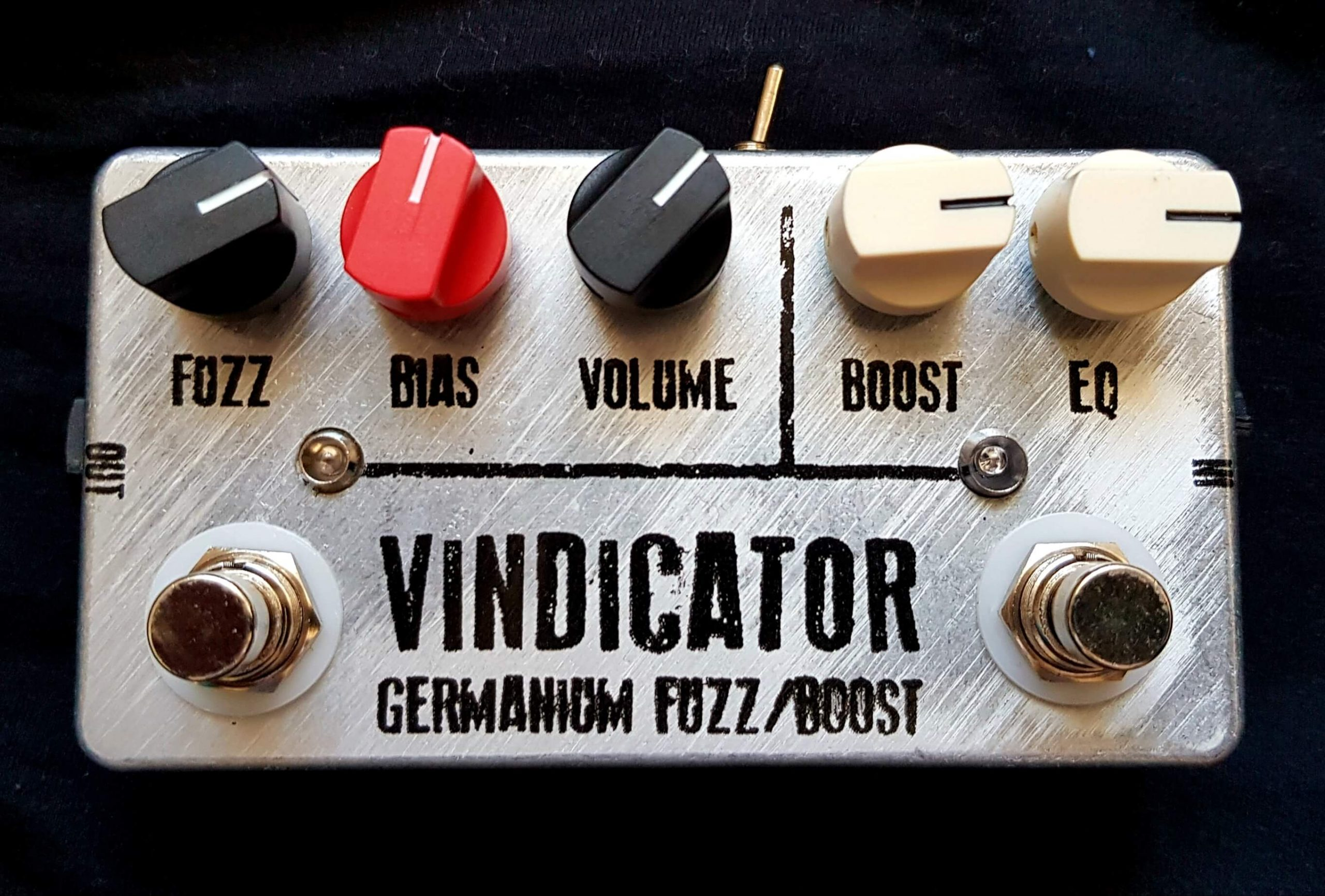 "JDM Pedals ""Vindicator"" Germanium Fuzz/Boost (*formerly ""Tonemaster"")"