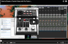 How To Create Tutorial Videos – Pro Tools, Quicktime, and a Behringer Xenyx 302 USB mixer