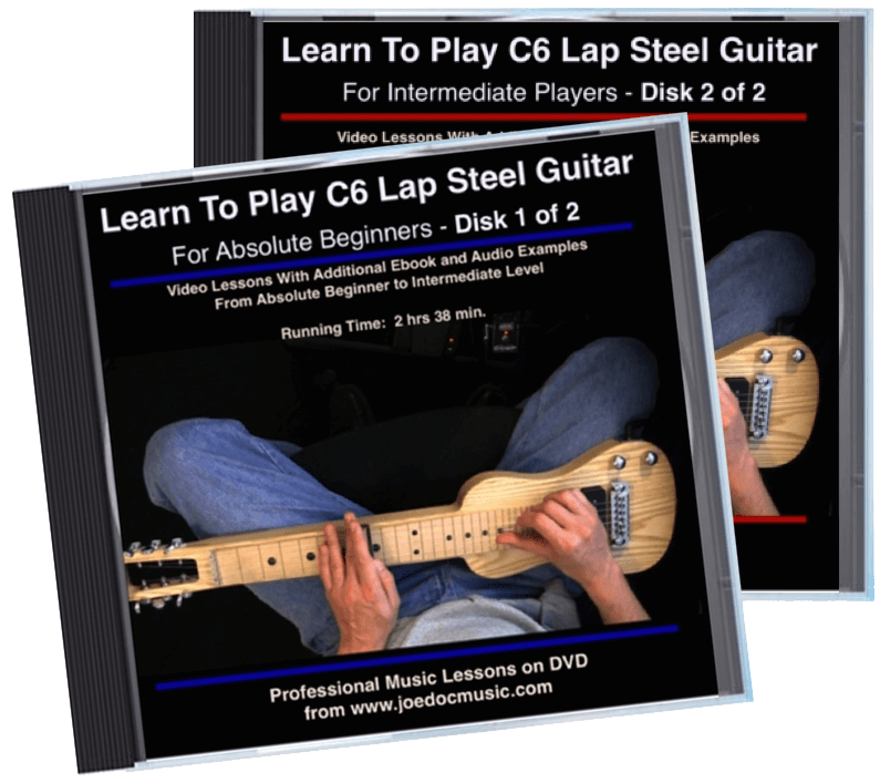Learn To Play C6 Lap Steel Guitar – 2 Video Set
