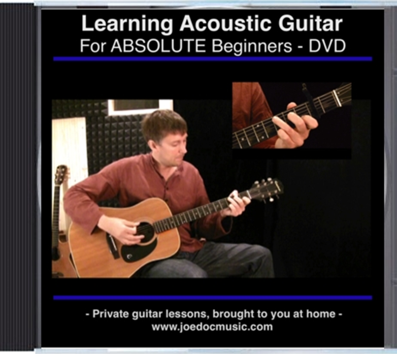 Learn To Play Acoustic Guitar for ABSOLUTE Beginners
