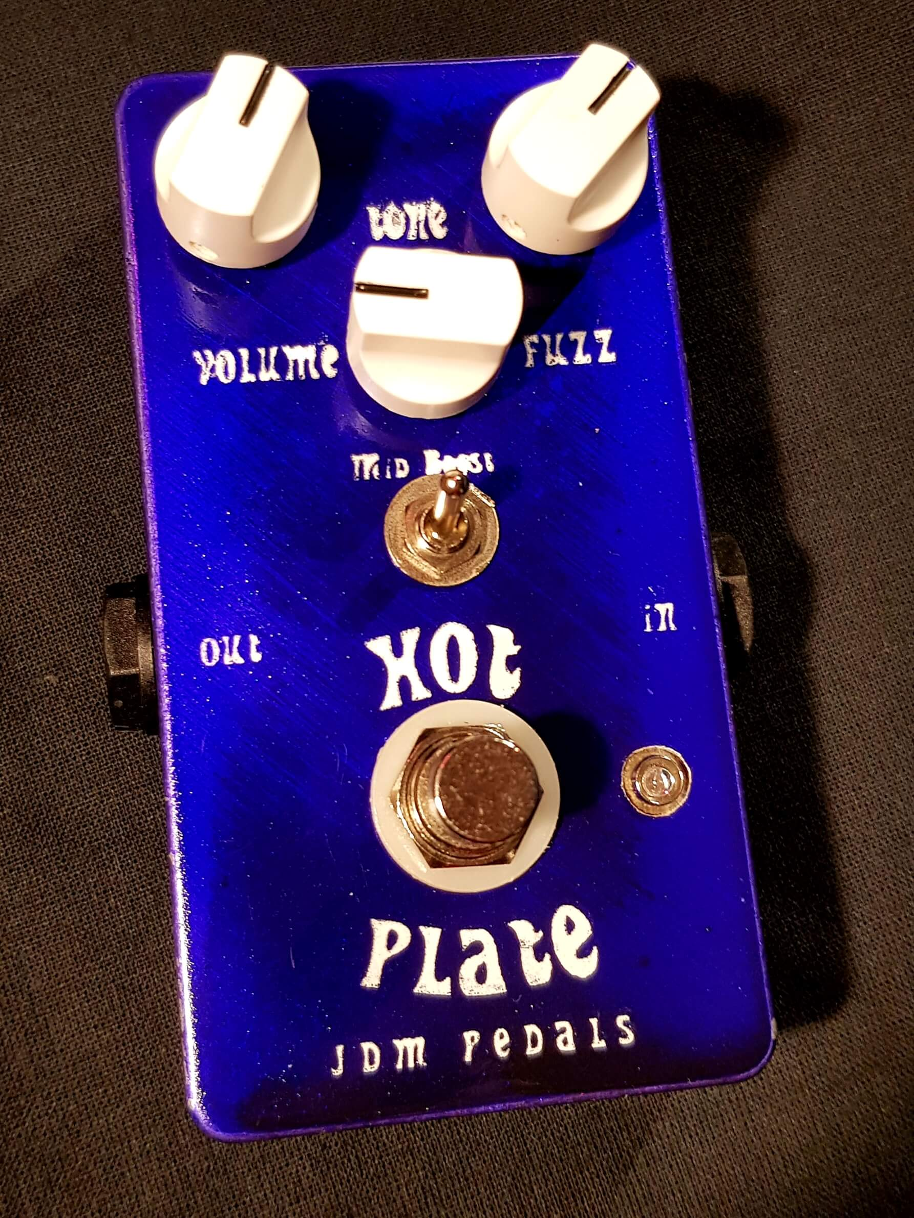 "JDM Pedals ""Hot Plate"" Custom Tonebender Mk3 Fuzz ** New for December 2020 **"