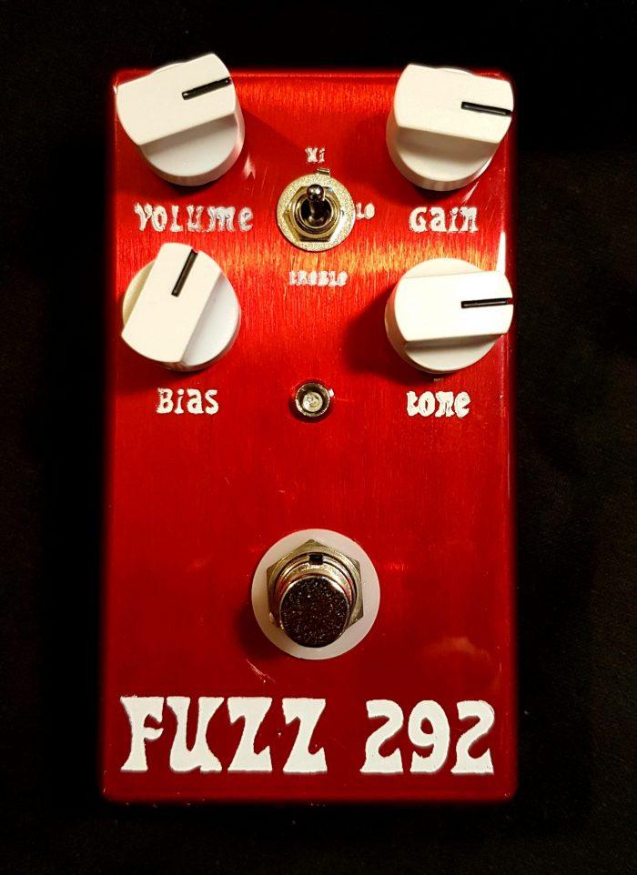 "JDM Pedals ""Fuzz 292"" Custom Silicon Fuzz Pedal | 3-knob & 4-knob Versions"