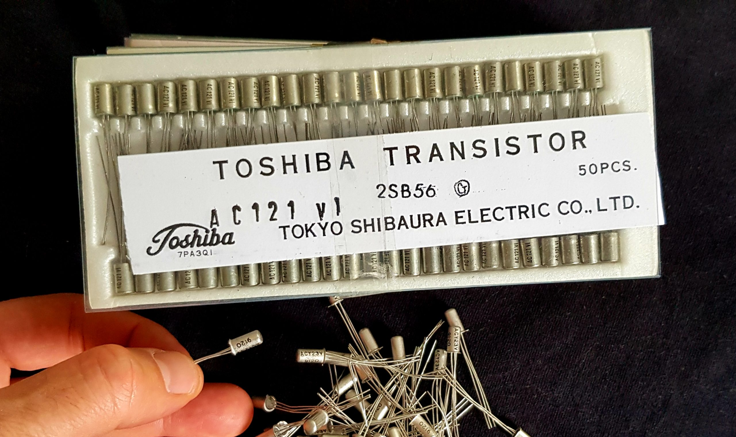 PNP Germanium Transistor Kit – For Classic Fuzz, Tonebender, Rangemaster Builds